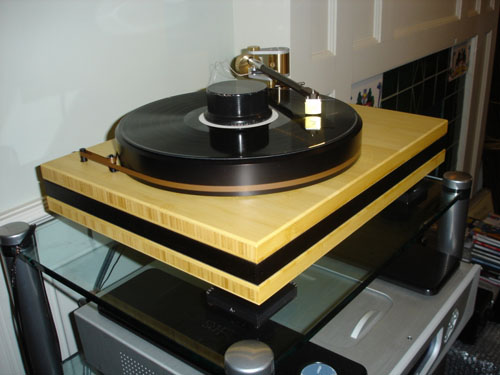 Artemis SA-1 Turntable with the Schroder Reference Tone Arm and the Alaerts Cartridge