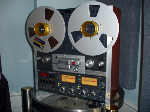Canadian Premiere of the famous Studer A810 Reel to Reel